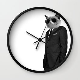 Coolest cat ever Wall Clock