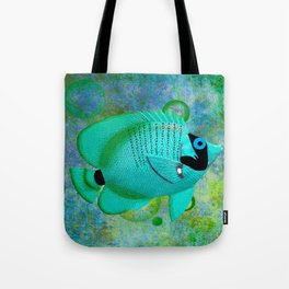 ANGEL FISH BLUE Tote Bag