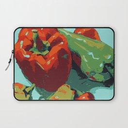 Peppers art print food kitchen art Laptop Sleeve