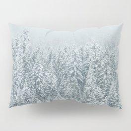 White Forest Pillow Sham