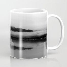 Black and White Alaska Photography, Enchanted Isle Coffee Mug