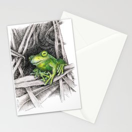 Frog - Just Hangin' Out Stationery Cards