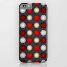 Dark Romance Polka iPhone 6s Slim Case