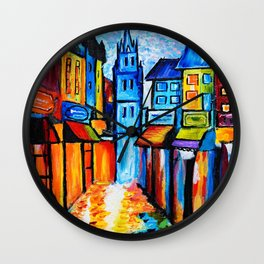 By The Old Church Wall Clock