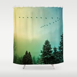 Rise Above It Shower Curtain