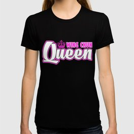 Wing Chun Queen Cute Martial Arts Training T-shirt