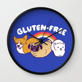 GF Loaves Wall Clock