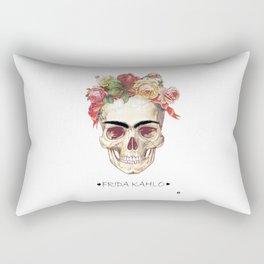 FRIDA KAHLO skull Rectangular Pillow