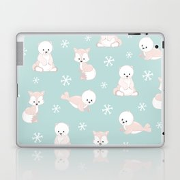 ARCTIC FRIENDS (green) Laptop & iPad Skin