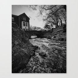 Buttermere bridge Canvas Print