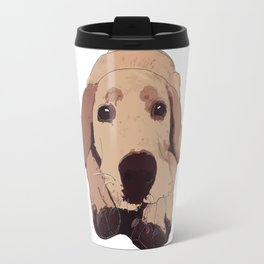 Golden Labrador Travel Mug