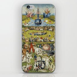 THE GARDEN OF EARTHLY DELIGHT - HEIRONYMUS BOSCH iPhone Skin