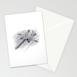 In A Galaxy Not Far Away Stationery Cards