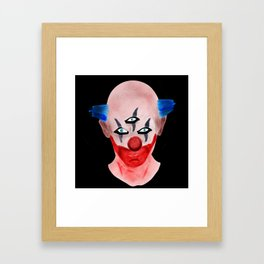 Killer Clown Framed Art Print