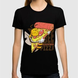 Bienen lieben Pizza T-shirt