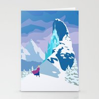 frozen Stationery Cards featuring Frozen by TheWonderlander