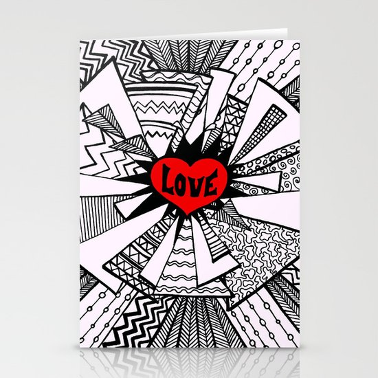 Power of Love... Stationery Cards