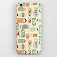 russia iPhone & iPod Skins featuring Russia by lapenche