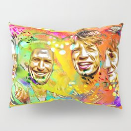 The Stones Pop Art Painting Pillow Sham