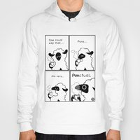 pun Hoodies featuring BoShama Pun by Greving Art