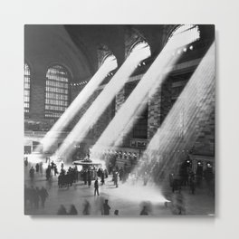 1935 Vintage New York City Grand Central Terminal Photographic Print Metal Print