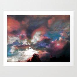 Sky View As Seen On TV Art Print