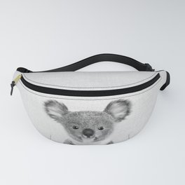 Baby Koala - Black & White Fanny Pack