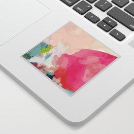 pink sky Sticker