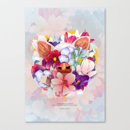 Always Flowers Canvas Print