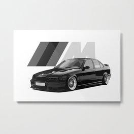 BIMMER E36 MPOWER Metal Print