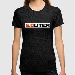 5.0 liter T-shirt