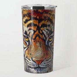 Tigers Eyes Travel Mug