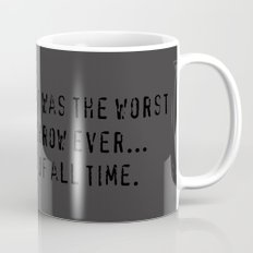 Worst Throw Ever.  Of All Time.  -  Red vs. Blue Wash Mug