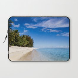 Beach Day- Cook Islands Laptop Sleeve