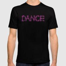 Dance Black MEDIUM Mens Fitted Tee