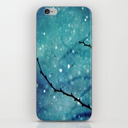 Winter Snow Branches  iPhone Skin