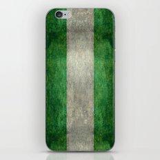 National flag of Nigeria, Vintage textured version iPhone & iPod Skin