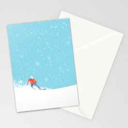 Snow_04 Stationery Cards