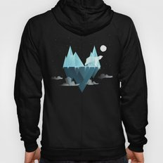 Low Poly Polar Bear Hoody