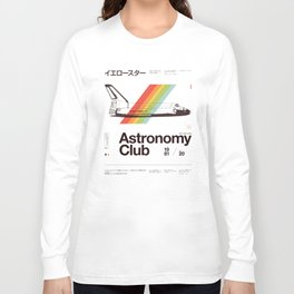 Astronomy Club Long Sleeve T-shirt