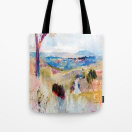 Charles Conder Dandenongs from Heidelberg Tote Bag