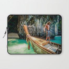 Thai on the boat Laptop Sleeve