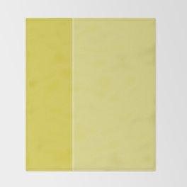 Yellow Lines Throw Blanket