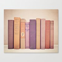 literary Canvas Prints featuring Literary Gems II by Laura Ruth