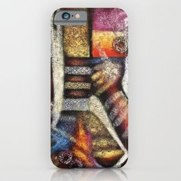 'From Africa to Here' by Artist Unknown iPhone Case