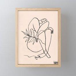 Summer lines V Framed Mini Art Print