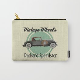 Vintage Wheels - Packard Boattail Speedster Carry-All Pouch