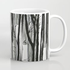 wood and snow  Mug