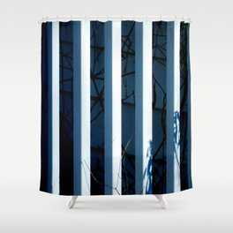 Fenced Shower Curtain