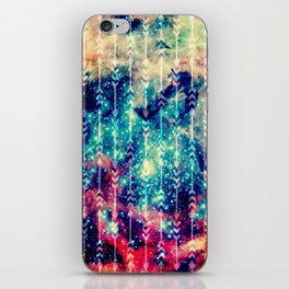 Galaxy Arrows iPhone Skin